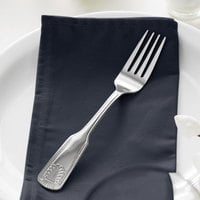 Acopa Atglen 7 5/8 inch 18/0 Stainless Steel Medium Weight Dinner Fork - 12/Case