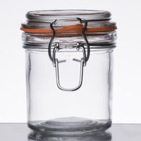 Anchor Hocking 98907 9 oz. Mini Hermes Jar - 12/Case