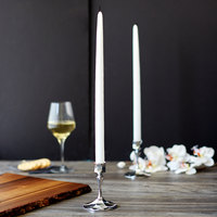 Sterno 40154 15 inch White 15 Hour Taper Candle - 144/Case