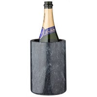 Franmara 9200 Customizable 4 1/4 inch x 6 1/8 inch Black Marble Wine Cooler