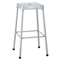 Safco 6606SL Silver Bar Height Steel Stool