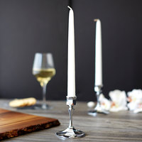 Sterno 40306 10 inch White 10 Hour Taper Candle - 144/Case