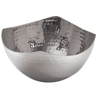 American Metalcraft SBH3 40 oz. Hammered Stainless Steel Serving Bowl