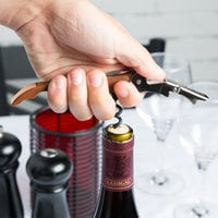 Pulltap's Original Customizable Waiter's Corkscrew with Copper Handle