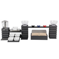 Vollrath Cubic Beverage and Food Display Service Set