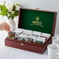 Bromley 8 Compartment Wooden Tea Chest