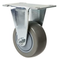Baker's Mark 3 inch Fixed Plate Caster