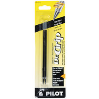 Pilot 77210 Black Ink Fine Point Retractable Ballpoint Pen Refill - 2/Pack