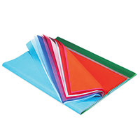 "Pacon 58516 Spectra 20"" x 30"" Assorted Color 10# Tissue Paper   - 100/Pack"