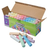 Creativity Street CKC1752 Assorted 11-Color Jumbo Stick Sidewalk Chalk