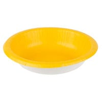 Creative Converting 173269 20 oz. School Bus Yellow Paper Bowl - 20/Pack