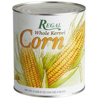 Regal Whole Kernel Sweet Corn - #10 Can - 6/Case