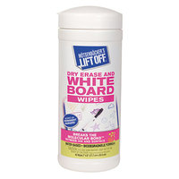 Motsenbocker's Lift Off 42703CT 40-Count 7 inch x 12 inch Dry Erase Wipe Canister - 6/Case