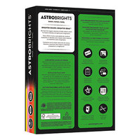 Astrobrights 21224 8 1/2 inch x 11 inch Assorted Vintage Color Ream of 24# Color Paper - 500 Sheets