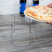 Choice 7 inch Chrome Plated Steel Pizza Stand