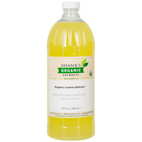 Shank's 32 oz. Organic Lemon Extract