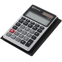 Innovera 15922 2 15/16 inch x 4 5/8 inch 12-Digit LCD Solar / Battery Powered Handheld Calculator