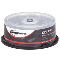 Innovera 78825 12x 700 MB / 80 Min. CD-RW Disc - 25/Pack