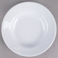 Thunder Group 1106TW Imperial 3 oz. White Wide Rim Melamine Sauce Dish - 12/Pack