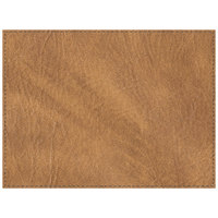 H. Risch, Inc. PLACEMATDX-HARNUGGET Harley 16 inch x 12 inch Customizable Nugget Premium Sewn Faux Leather Rectangle Placemat