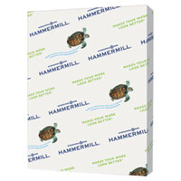 "Hammermill 102863 8 1/2"" x 11"" Tan Ream of 20# Recycled Colored Copy Paper - 500 Sheets"