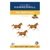 Hammermill 103192 Fore 11 inch x 17 inch White Ream of 20# Multipurpose Copy Paper - 500 Sheets