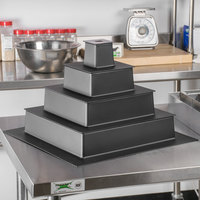 Matfer Bourgeat 681922 ABS 5-Piece Square Superimposed Wedding Cake Insert
