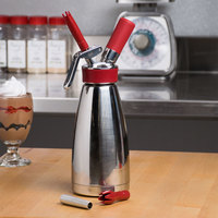 iSi 180101 Thermo Whip Stainless Steel Whipped Cream Dispenser - .5 Liter