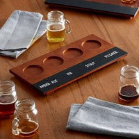 Acopa Flight Tray with Chalkboard Surface