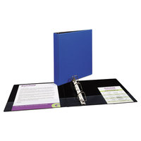 Avery 27351 Blue Durable Non-View Binder with 1 1/2 inch Slant Rings