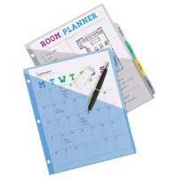 Avery 16176 Big Tab 5-Tab Multi-Color Write-On Plastic Pocketed Dividers
