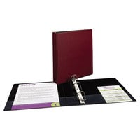 Avery 27352 Burgundy Durable Non-View Binder with 1 1/2 inch Slant Rings