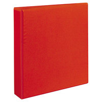 Avery 79171 Red Heavy-Duty View Binder with 1 1/2 inch Locking One Touch EZD Rings
