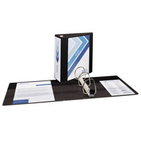 Avery 79604 Black Heavy-Duty View Binder with 4 inch Locking One Touch EZD Rings