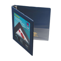 Avery 68051 Navy Blue Heavy-Duty Framed View Binder with 1/2 inch Slant Rings