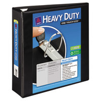 Avery 79693 Black Heavy-Duty View Binder with 3 inch Locking One Touch EZD Rings