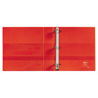 Avery 79585 Red Heavy-Duty Non-View Binder with 1 1/2 inch Locking One Touch EZD Rings