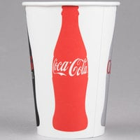 Solo RNP16C-K1038 Coke® 16-18 oz. Poly Paper Cold Cup - 1000/Case
