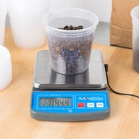 AvaWeigh PC20 20 lb. Compact Digital Portion Control Scale