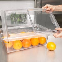 Cambro 1218SCCW135 Camwear 18 inch x 12 inch Clear Sliding Lid for Food Storage Box