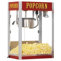 Paragon 1208110 Theater Pop 8 oz. Red Popcorn Popper - 240V (International Use Only)