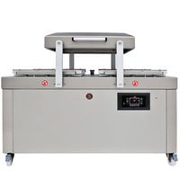 Sammic SU-6100P Double Chamber Vacuum Packaging Machine with Four 26 inch Seal Bars
