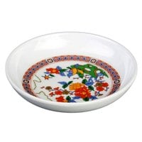 Thunder Group 1003TP Peacock 3 oz. Round Melamine Sauce Dish - 60/Case
