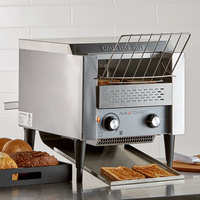 Avatoast T140 Commercial 10 inch Wide Conveyor Toaster with 3 inch Opening - 120V, 1750W (Formerly Avantco T140)