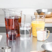 Cambro Camwear 5-Piece Polycarbonate Measuring Cup Set