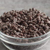 25 lb. Pure Semi-Sweet 4M Mini Chocolate Baking Chips with Real Vanilla