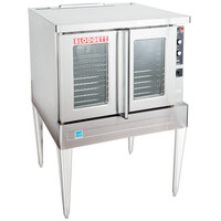 Blodgett BDO-100-E Single Deck Full Size Electric Convection Oven - 208V, 3 Phase, 11kW