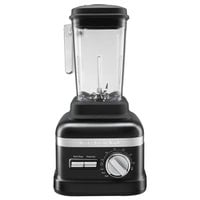 KitchenAid KSBC1B0BM Matte Black 3.5 hp 60 oz. 3 Speed Blender - 120V