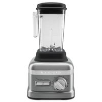 KitchenAid KSBC1B0CU Contour Silver 3.5 hp 60 oz. 3 Speed Blender - 120V