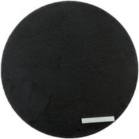 Acopa 12 inch Round Black Slate Tray with Soapstone Chalk